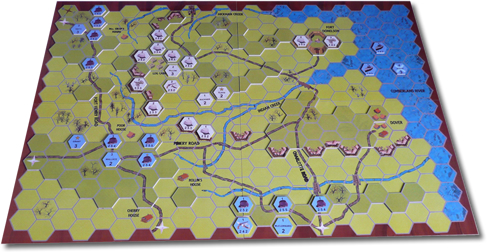 Included With The Download Is The 3d Game Board In Four Quadrants The Fort Donelson Six Page Battle Report The Gaming Counters A Simple Guide On How To